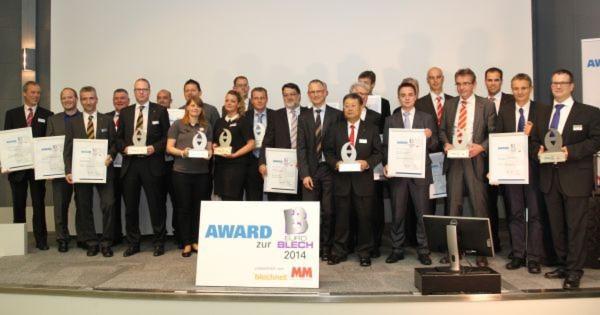 MM Maschinenmarkt und Blechnet küren Euroblech-Award-Gewinner