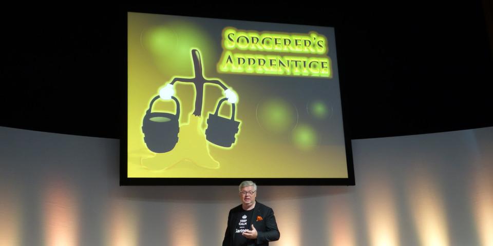 """""""Hinsichtlich neuer Analysemethoden sind wir wie Zauberlehrlinge: Wir haben unsere Werkzeuge nicht mehr unter Kontrolle"""", warnte Gartner-Analyst Frank Butendijk anlässlich des Gartner-Summits zu BI und Analytics in München."""
