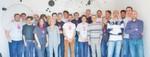 Freut sich über den Erfolg des Einplatinencomputers: Das UDOO-Team
