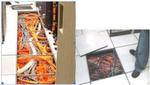 Eigentlich dienen Doppelböden im Rechenzentrum dazu, die IT von unten zu belüften. Zugleich aber wird der Raum für die Zuleitung von Strom und Connectivity benötigt. Somit werden häufig Strom- und Datenkabel in den Hohlraum verlegt und alles ist aufgeräumt, leicht zugänglich und effizient genutzt .... in der Theorie.