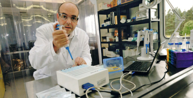Ätztechnisch hergestellter Biosensor weist Endotoxine nach