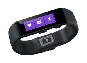 Das Fitnessband von Microsoft soll eine Akkulaufzeit von bis zu 48 Stunden aufweisen. Es funktioniert als Armbanduhr, misst Vitalfunktionen wie den Herzschlag oder die Hauttemperatur, zeigt Kurznachrichten an und kann mit Cortana, der digitalen Assistentin von Microsoft, in Dialog treten.
