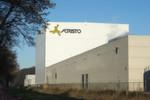 Das Agristo-Tiefkühllager wurde in der kompakten Silobauweise konstruiert.