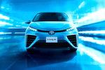 Toyotas Brennstoffzellen-Fahrzeug ist im Straßenverkehr angelangt.