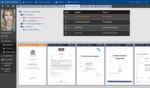 Aufgeräumte Benutzeroberfläche: Die digitale Personalakte von aconso präsentiert sich übersichtlich, klar geordnet und intuitiv bedienbar.