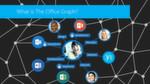 MS Delve stellt den sozialen Graphen eines Teams oder einer Community als Netzdiagramm dar.