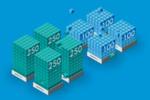 Eine EVO:Rail-Appliance kann komfortabel etwa 100 Server-VMs oder 250 Desktop-VMs ausführen (bei 4 Appliances pro Cluster ist vorerst allerings Ende der Fahnenstange).
