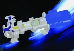 Bei der MPCHDryRun handelt es sich um eine robuste, dauerhaft trockenlauffähige magnetgekuppelte Spiralgehäusepumpe mit einstufigem geschlossenen oder halboffenen Radiallaufrad. Die mechanisch leicht vorgespannte Wälzlagerung ermöglicht dabei einen Betrieb ohne jede Flüssigkeitsfüllung.