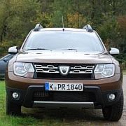 Beim Dacia Duster können die Hinterachsfedern aus dem Federteller springen.