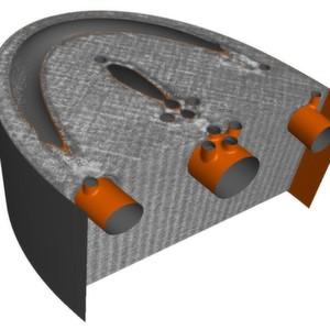 QM Meltpool 3D ermöglicht ein plastisches Abbild des Bauteils bis hin zu lokalen Effekten. So können Prozessparameter angepasst und Konstruktionen fertigungsgerechter ausgelegt werden.