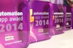 In diesem Jahr vergab die Jury den Automation App Award erstmals in vier Kategorien: Corporate, Enegineering, Katalog und neu hinzugekommen Produktion.