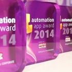Verleihung des automation app awards 2014