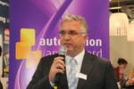 Bernd Weinig, Publisher der Medienmarken elektrotechnik und konstruktionspraxis, moderierte die Verleihung des dritten automation app awards.