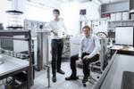 Die Climeworks-Gründer kommen aus Deutschland. Jan Wurzbacher (l.) und Christoph Gebald haben an der ETH Zürich Maschinenbau studiert.