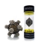 Die Nanodots-Magnetkugeln zum Konstruieren unendlich vieler Figuren machen Spaß und fördern Kreativität und Improvisation.
