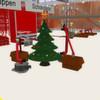 Die Fabrik des Weihnachtsmannes – eine 3D-Simulation