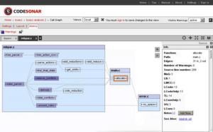Insbesondere für Software, bei denen Zuverlässigkeit und Sicherheit im Vordergrund stehen, empfiehlt Verifysoft CodeSonar. Das Tool von GrammaTech dient zur statischen Codeanalyse für C, C++ und Java-Programmcode.