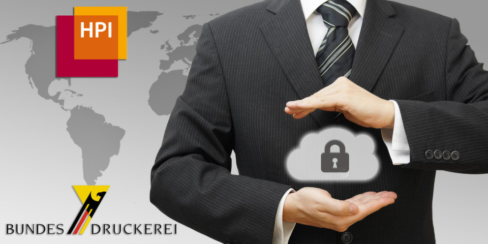 Das Hasso-Plattner-Institut und die Bundesdruckerei erforschen gemeinsam sicheres E-Government in der Cloud.