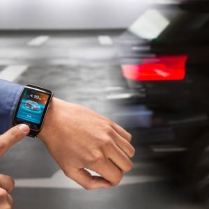 Einparken per Sprachbefehl: BMW zeigt auf der CES in Las Vegas ein entsprechendes System.