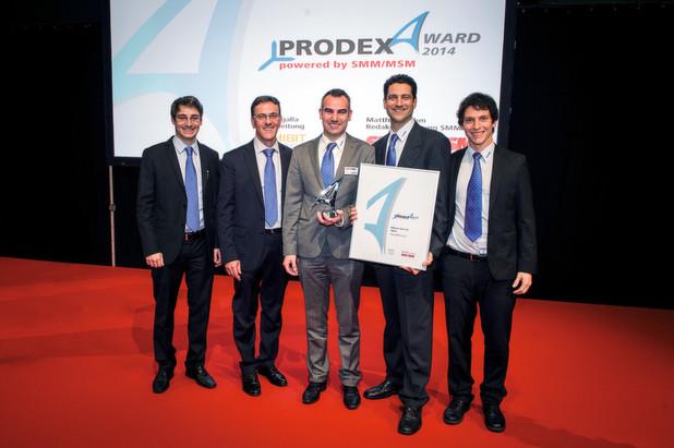 Prodex-Award 2014: Platz 1 für Mikron Tool