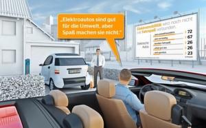 Continental Mobilitätsstudie 2015: E-Auto in der Imagefalle