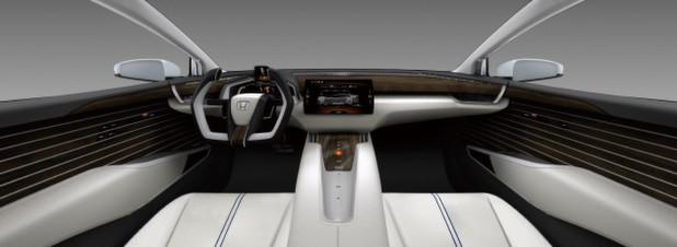 USA-Debüt auf der NAIAS 2015 in Detroit: das neue Brennstoffzellenfahrzeug Honda FCV Concept