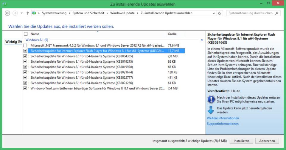 Nur Systeme mit aktiviertem Telnet-Dienst erhalten das einzige kritische Update im Januar 2015.