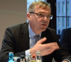 """Claus Schünemann, Vorsitzender der Geschäftsführung von CSC: """"Wir befinden uns mitten im Umbruch. Deutschland muss Vorreiter sein."""""""