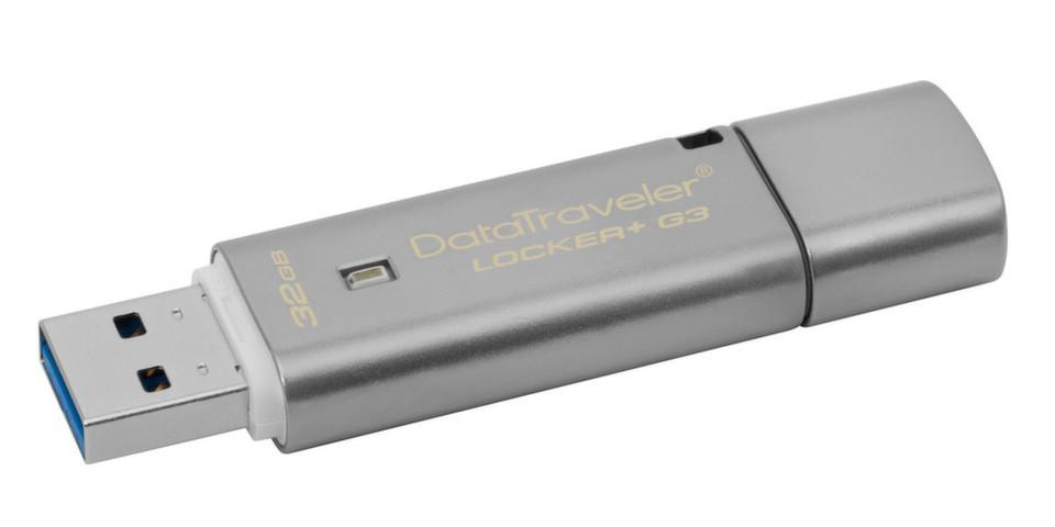 Kingston liefert USB-3.0-Speicher in Kapazitäten von acht bis 64 GByte.