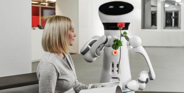 Roboter-Gentleman aus dem Baukasten