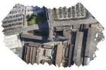 Luftbild des zu analysierenden Stadtteils