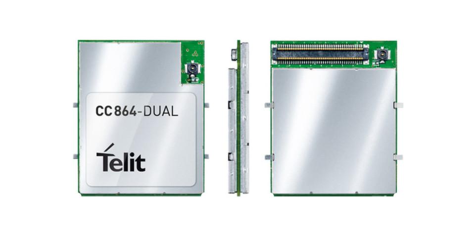 Das Dual-Band 800/1900 MHz CDMA/1xRTT CC864-DUAL-Modul ist für mittlere Industrieanwendungen konzipiert, die einen kompakten Formfaktor und Konnektivität erfordern