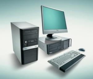 Die Esprimo-5925-Familie ist wahlweise als Microtower oder Small Form Factor PC erhältlich.