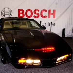Bosch erweckt Filmauto K.I.T.T. zum Leben