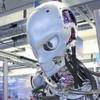 Ein Roboter mit Muckis