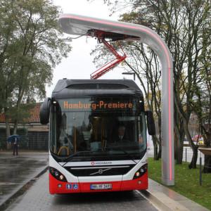 Volvo und Siemens kooperieren bei Elektrobussystemen