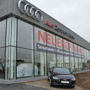 autohaus best er ffnet audi zentrum hanau. Black Bedroom Furniture Sets. Home Design Ideas