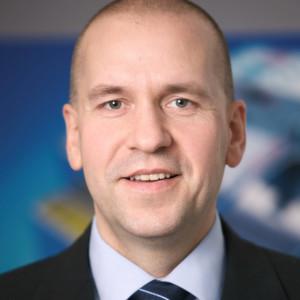 Dr. Steffen Haack, Mitglied des Bereichsvorstands mit Zuständigkeit für die Business Unit Industrial Applications und Koordination Vertrieb der Bosch Rexroth AG.