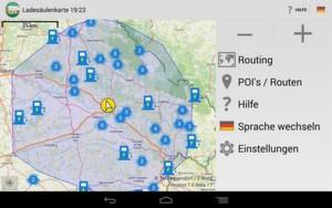 Optimiertes Reichweitenmodell der TH-Deggendorf: Über eine App erhalten Nutzer von Elektrofahrzeugen künftig deutlich genauere Daten zur maximalen Reichweite ihres Fahrzeugs.