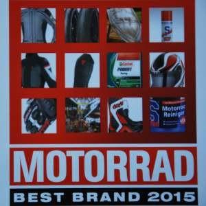 Zeitschrift Motorrad kürt ihre Best Brands 2015