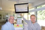 Unternehmensleiter Bernhard gr. Austing (l.) und sein Geschäftsführer Andreas Robke