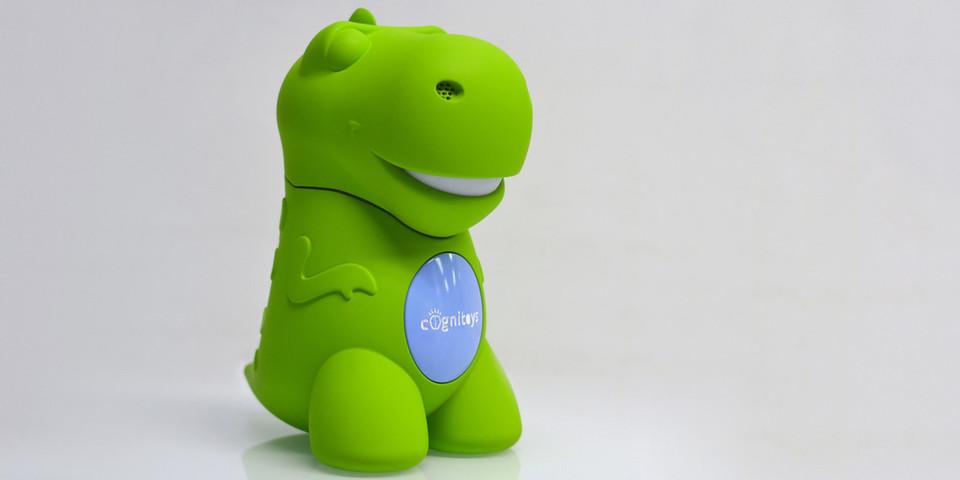 Was Kinder dem Dino anvertrauen bleibt nicht geheim: Eltern sollen die Gespräche per Cloud-Plattform auswerten.