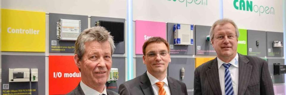 Der CiA-Vorstand: Holger Zeltwanger, Uwe Koppe und Harm-Peter Krause (von links nach rechts)