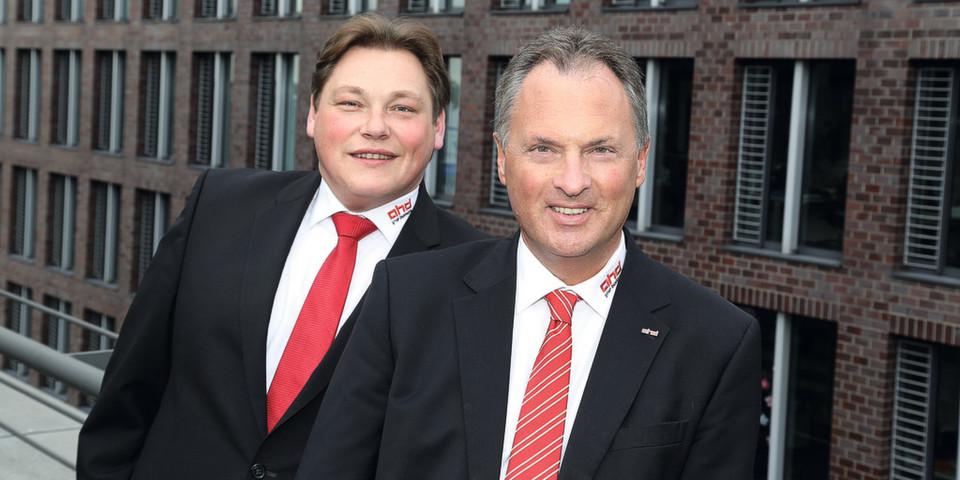 Carsten Lückel, Managing Director (links) und Andreas Rother, Managing Director sowie Gründer von AHD