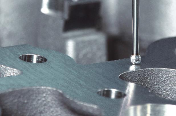 Erste diamantbeschichtete Serien-Messtaster