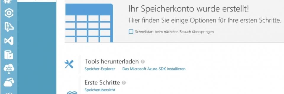 SQL Server 2014 in Microsoft Azure-Speicher sichern
