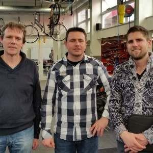 Zweiradmechaniker-Handwerk: Deutschland-Holland 3,5:3