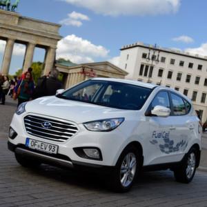 Seit Mai für jeden zu kaufen: Der Hyundai ix35 Fuel Cell.