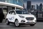Hyundai bietet sein Brennstoffzellenauto ix35 Fuel Cell seit Mai für jedermann an.