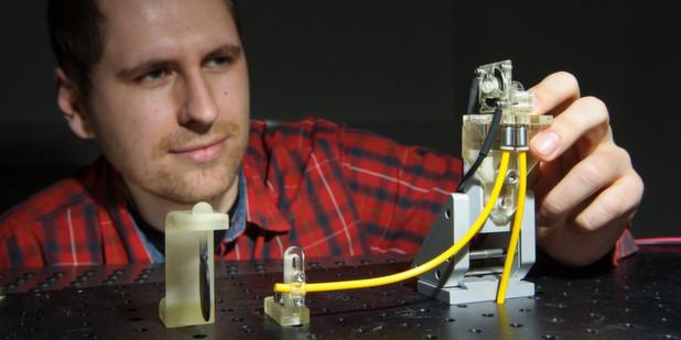 Effizientes Druckluft-Ventil aus einfacher Folie